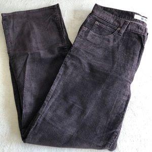 Gap Corduroy Brown Petite Bootcut Pants